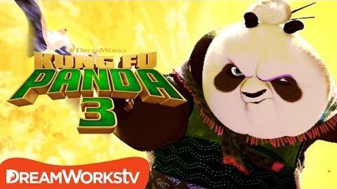 Po Teaches Kung Fu (Grandma Panda) - Kung Fu Panda 3 (2016)