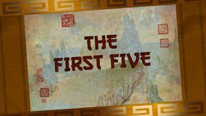 The-first-five-title