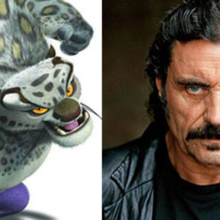 Tai Lung and his film voice actor, <a href=