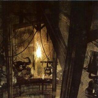Uno de los conceptos del interior de la prisión, por Jon Klassen.