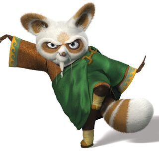 Shifu's green-colored attire first featured in <i><a href=