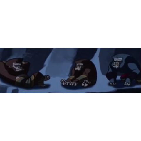Great Gorilla's Henchmen
