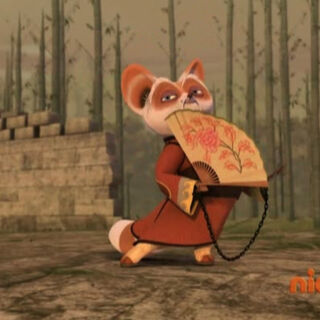 Shifu dances for <a href=