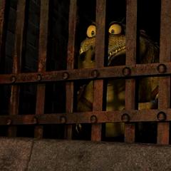 El Maestro Croc en la carcel