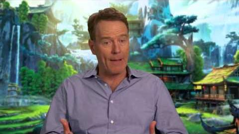 "Kung Fu Panda 3 ""Li"" On-Set Interview Pt 1 - Bryan Cranston"