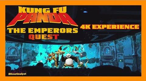 DreamWorks Theatre - Kung Fu Panda The Emperor's Quest