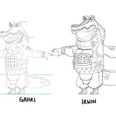 Concept illustrations of Gahri and <a href=
