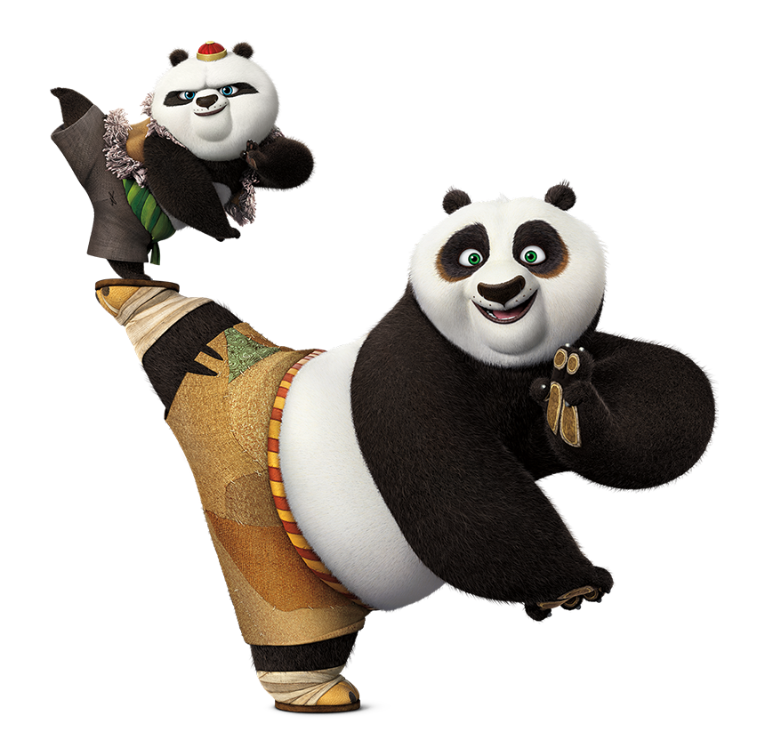 Фото панды кунг фу 4