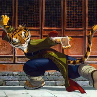 Early concept art of Tigress by Rodolphe Quenoden and Richard Daskas