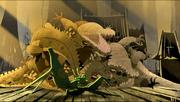 Mantis-defeats-crocodiles