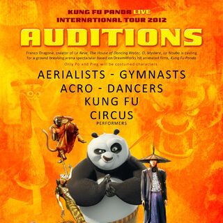 2012 auditions poster