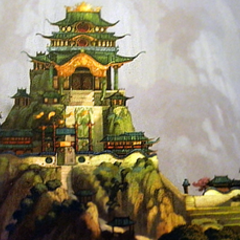 Concept illustration of the Jade Palace by Tang Kheng Heng and Raymond Zibach
