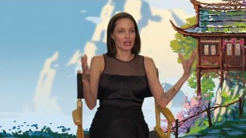 "Kung Fu Panda 3 ""Tigress"" On-Set Interview - Angelina Jolie"