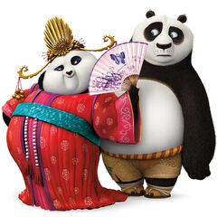 Mei Mei and Po in a <i><a href=