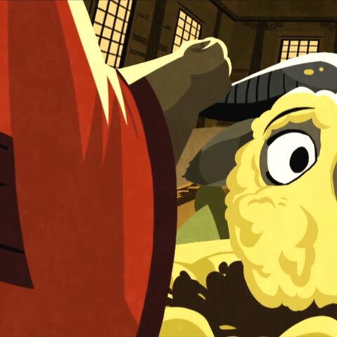 Pingjun about to slap <a href=