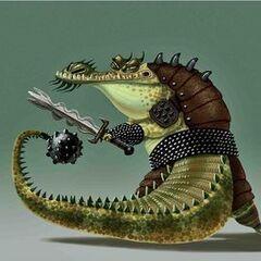 Uno de los primeros conceptos del Maestro Croc