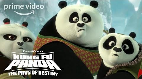Cave Entrance - Kung Fu Panda Paws of Destiny (2018)