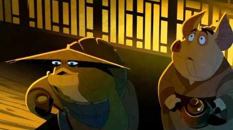"""Kung Fu Panda """"los secretos de los maestros"""" parte 1"""