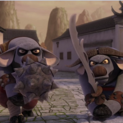 Temutai's sons.