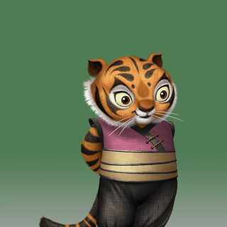 concept of young tigress by nico marlet - Tigresse Kung Fu Panda