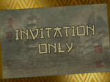 Invitation Only/Transcript