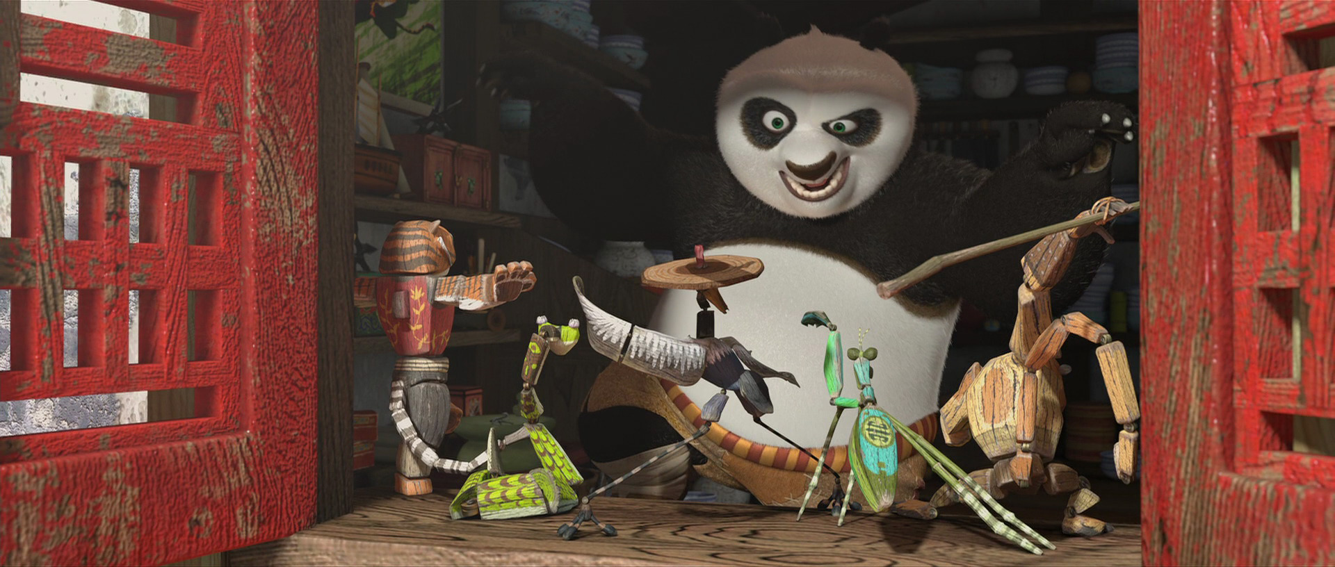Furious Five Action Figures Kung Fu Panda Wiki Fandom Powered By