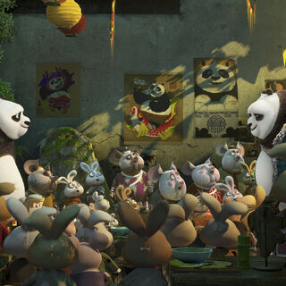 Po and Li meeting each other