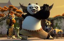 Po kung fu panda 3 -Po y Los 5 ,con estilo