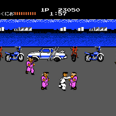 First part of the first area of Stage 2 (Yokohama Harbor) on Level 1.
