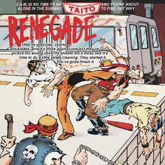 NES box cover art for <i>Renegade</i>.