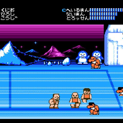 <b>Heilman</b> in the Famicom version of <i>Nekketsu Kōkō Dodgeball Bu</i>.