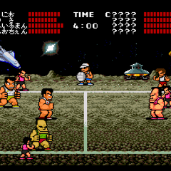 The final match on the moon in Quest Mode.
