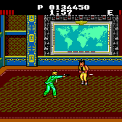 <b>Mr. K</b> fighting <b>Lucas</b>.