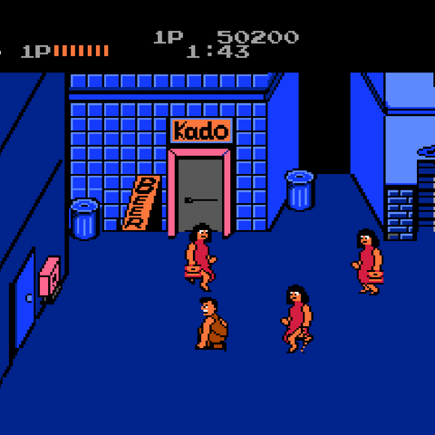 First area of Stage 3 in <i>Renegade</i>.