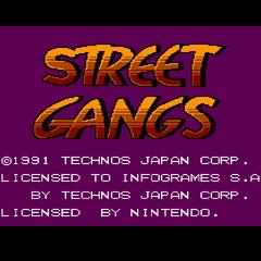 thumb|<i>Street Gangs</i> title screen.