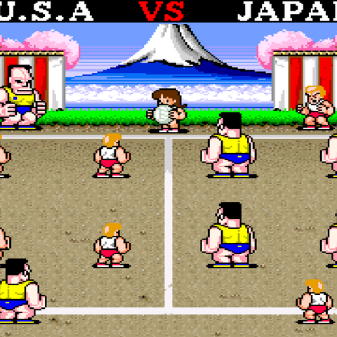 The Final Match in the North American version.