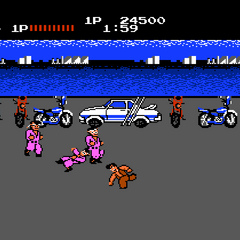 First part of the first area of Stage 2 in <i>Renegade</i>.
