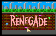 Renegade sms intro