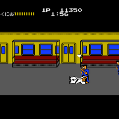 A heart flies away from Kunio, his chance for a extend gets away...