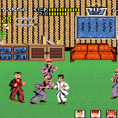 Final area of the last round, Japanese version.