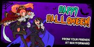 River City Girls Halloween