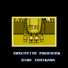Ending in the North American version. This version has a new Executive Producer credit.