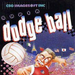 <i>Super Dodge Ball</i> NES box art.