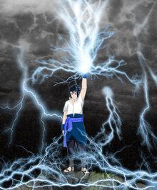 Sasuke Kirin Attack