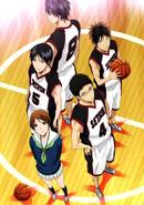 Seirin High anime 2nd years