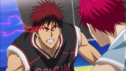 Kagami enters the Zone again