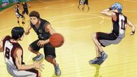 Kuroko foils Seiho's defense anime