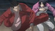 Haizaki kicks Himuro anime