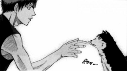 Tetsuya 2 and Kagami (kawaiiii)