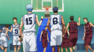 Aomine drifts away